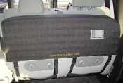Ford F150 Super Crew Molle seat cover, rear drivers side